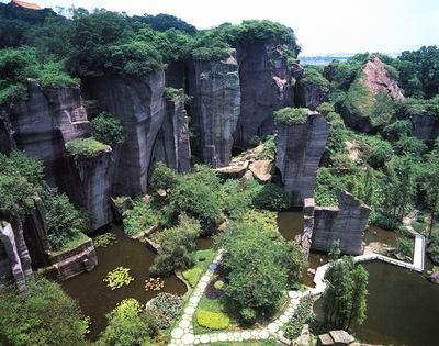 莲花山风景区-广州本地宝